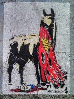 Street art en La Paz Bolivia  Arte urbano Bolivia  Pinterest