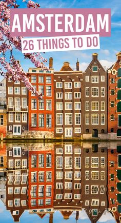 Want to experience Amsterdam without the crazy crowds and high prices? Travel in the off-season! Get ready to explore the best that Amsterdam has to offer with our epic Amsterdam bucket list! Includes…More Voyage Europe, Europe Travel Guide, Europe Destinations, Travel List, Travel Guides, Travel Vlog, Travel Jobs, Disney Travel, Travel Checklist