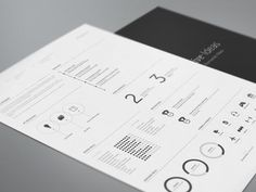 Resume redesign. by Fernando Báez