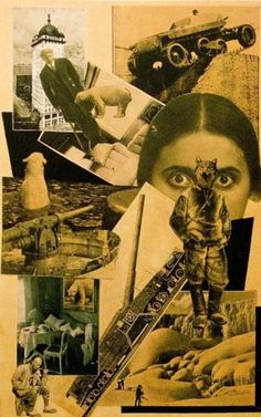 PHOTOMONTAGE by Aleksandr Mikhailovich Rodchenko (Russian 1891~1956) | ЛЕФ Movement | background: face of Lili Brick