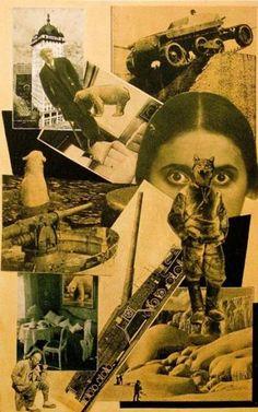 PHOTOMONTAGE by Aleksandr Mikhailovich Rodchenko (Russian 1891~1956) | ЛЕФ Movement | background: face of Lili Brick