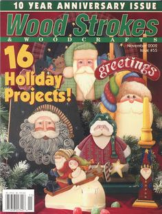 Album Archive - Wood_Strokes_and_Woodcrafts_ Christmas Artwork, Christmas Paintings, Christmas Books, Christmas Signs, Christmas Crafts, Christmas Ideas, Fall Crafts, Christmas Ornaments, Decorative Painting Projects