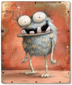 Zozoville Gallery – the artwork of Mateo Dineen and Johan Potma Cartoon Monsters, Cute Monsters, Cartoon Art, Monster Drawing, Monster Art, Illustration Noel, Illustrations, Animal Drawings, Art Drawings