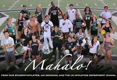 Mahalo From UH Athletics
