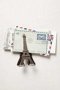 Eiffel Tower Desk Clip #Anthropologie #AnthroFave