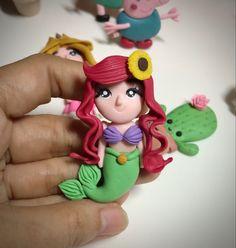 Fondue, Sugar Art, Princess Peach, Smurfs, Polymer Clay, Fictional Characters, Fimo, Fantasy Characters