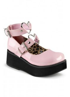 Demonia Sprite-02 Shoe Pink, £74.99