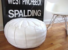 i have been coveting this pouf for years! why can't i find one for under 100?
