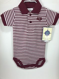 Creative Knitwear Texas A/&M University Aggies Baby and Toddler Overalls