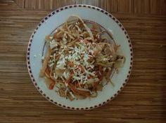Kínai sült tészta Ancsa módra - Balkonada kínai recept Penne, Spaghetti, Ethnic Recipes, Spaghetti Noodles