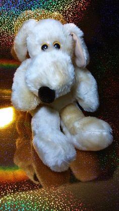 Vintage 1980 Francesca Hoerlein Le Mutt Plush Soft Stuffed Biege Cream Puppy Dog #lemutt #francescahoerlein #plush #vintageplush Misfit Toys, Dogs And Puppies, Plush, Teddy Bear, Characters, Crafty, Vintage, Animals, Ebay
