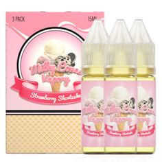 New product release: Milky Cones Vapor....  Available at: http://www.ejuices.com/products/milky-cones-vapory-strawberry-shortcake?utm_campaign=social_autopilot&utm_source=pin&utm_medium=pin.