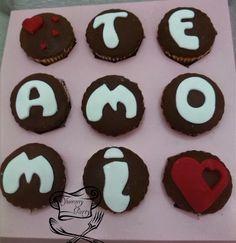 Te amo mi Corazón en Cubierta sabor chocolate