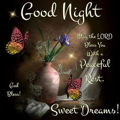 Good Night... God Bless.