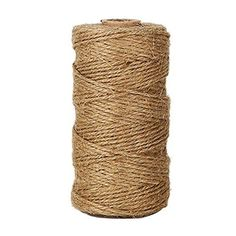 KINGLAKE 328 Feet Natural Jute Twine Best Arts Crafts Gif...