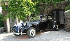 Citroen Traction Avant, auto d'epoca per il matrimonio