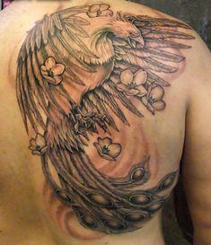 Phoenix Tattoo - 50 Beautiful Phoenix Tattoo Designs  <3 !