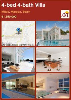 4-bed 4-bath Villa in Mijas, Malaga, Spain ►€1,850,000 #PropertyForSaleInSpain