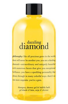 philosophy 'you're a gem - dazzling diamond' shampoo, shower gel & bubble bath available at #Nordstrom