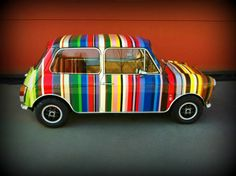 soulsteer:1973 Mini Classic Cooper Hand painted Follow...