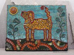 """Durango"" Mixed Media Mosaic | Flickr: Intercambio de fotos"