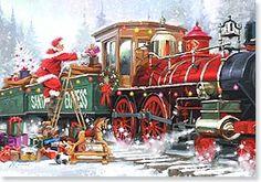 Christmas Card - The Christmas season is fast approaching   Richard Macneil   73201   Leanin' Tree