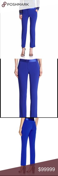 ISO Diane von Furstenberg Genesis pants in blue I'm looking for Diane von Furstenberg's Genesis pants in blue. I'm looking for preferably size 2, but size 4 may work. Diane von Furstenberg Pants