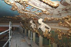 La Fenice. Obras de restauración 2003.