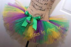 Mardi Gras Costume Race Running Tutu in Purple by TutusByAmyLou, $35.00