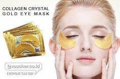 Tampil Cantik & Fresh Tanpa Mata Panda Serta Samarkan Garis Halus Usia Dengan Gold Eye Mask Collagen Hanya Rp.6500/pack isi 2 - www.evoucher.co.id #Promo #Diskon #Jual  Klik > http://evoucher.co.id/deal/Crystal-Collagen-Gold-Eye-Mask-april-2014  Masker Mata emas untuk menghilangkan mata panda dan mengurangi garis (kerutan) dibawah mata. Agar Kamu bisa selalu tampil fresh dan mempesona  pengiriman mulai 2014-05-06