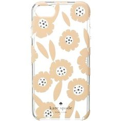 Kate Spade New York Jeweled Majorelle Phone Case for iPhone 7 (Pink Sand Multi) Cell Phone Case