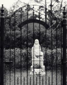 Bonaventure Cemetery in Savannah Georgia. This is Gracie's plot.