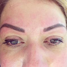 This client had her brows done previously by another tech, she had one brow a lot higher than the other by 6mm, I have lowered one and extended the other to make them even, client is very happy #eyebrowtattooing #eyebrows #brows #perfecteyebrows #eyebrowshaping #eyebrowwax