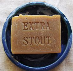 Extra Dark Stout Soap  Mens Soap  Gift Dad Brother by AquarianBath, $6.50