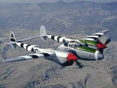 maybe fly in one of these (P-38 Lightning) one day
