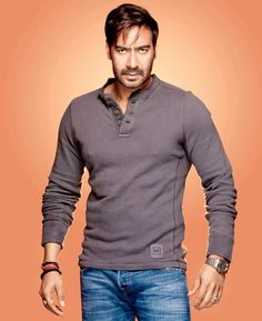 Ajay Devgn #Style #Bollywood #Fashion #Handsome