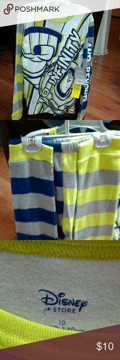 Boys pajamas Disney Buzz Lightyear 2pc Pajama Set brand new with tags Disney Pajamas Pajama Sets