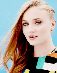 Sophie Turner for TV Guide at San Diego Comic Con, 2014 (x)