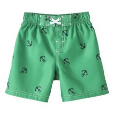 My new boys swim trunks are starting to hit target stores now!    Circo® Infant Toddler Boys' Anchor Swim Trunk