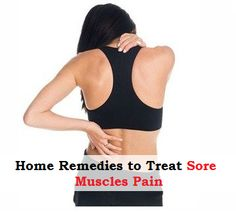 Essential Oils and Home Remedies to Treat Sore Muscles Pain