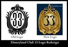 Compare the New and Old Club 33 Logos…Which is Better? You Decide. Personally the old one Disney Nerd, Disney Parks, Walt Disney, Old Logo, Disney Images, First Love, My Love, Old Ones, No One Loves Me