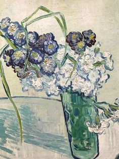 Vincent van Gogh (Dutch, 1853-1890)    Vase with carnations, 1890    Oil on canvas
