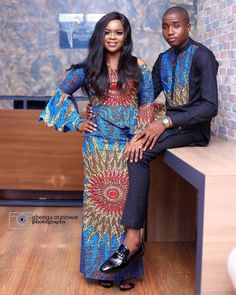 The most classic collection of beautiful traditional and ankara styles and designs for couples. These ankara styles collections are meant for beautiful African ankara couples African Fashion Designers, African Print Fashion, Africa Fashion, Ankara Fashion, African Prints, Fashion Dresses, Nigerian Fashion, Fashion 2017, African Wear