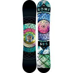Love this one. RomeGold Snowboard - Women's