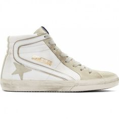 89e6547bc0f39 Golden Goose GGDB Slide Hi Couples Shoes with White