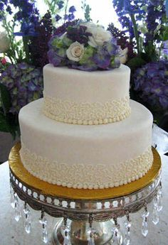 Wedding cake  2 tiers