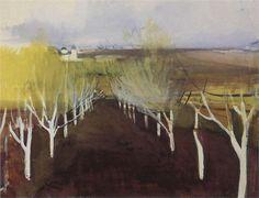 Zinaida Serebriakova Russian 1884-1967 Orchard 1908