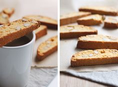 Lemon Curd & Almond Biscotti