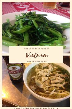This is the list of what to eat in Vietnam based on my month travels in Vietnam on South East Asia backpacking route. Vietnamese cuisine is among the best in the world. These are the best Vietnamese food I had in Vietnam and explanations of where I had them and why you should try them too.  #VietnameseCuisine #VietnamFood #FoodInVietnam #VietnameseFood #TravelVietnam #WhatToEatInVietnam Vietnamese Cuisine, Vietnamese Recipes, Vietnam Travel, Asia Travel, Prawn Stir Fry, Tiger Beer, Water Spinach, Bun Cha, Fast Food Chains