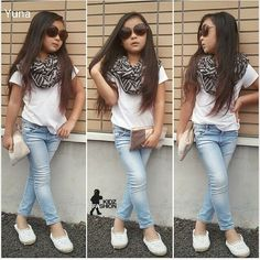 Off the sunglasses, off the purse then she will be a fashion normal kid. Cute outfit thou Women, Men and Kids Outfit Ideas on our. Little Girl Outfits, Cute Outfits For Kids, Little Girl Fashion, Cute Girls, Cute Kids Fashion, Tween Fashion, Toddler Fashion, Little Fashionista, Tween Mode